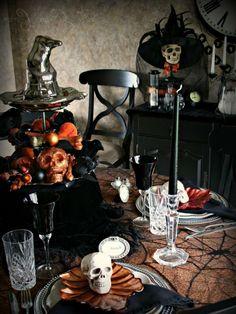 deco table halloween - decoration fete deco table halloween