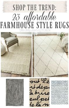 1000 images about pin obsessed favorite finds on for Farmhouse style kitchen rugs