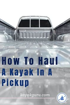 Before you buy a kayak it can important to consider transportation. Your pickup can be just the tool for the job so we've put together a guide to help you tie your yak down safely in the bed of your truck. Kayak Fishing Tips, Fishing 101, Kayak Camping, Canoe And Kayak, Best Fishing, Camping List, Canoe Trip, Camping Ideas, Fly Fishing
