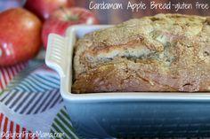 Cardamom Spiced Apple Bread ~ Gluten Free