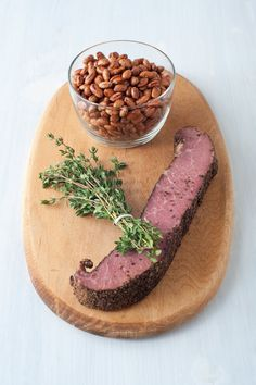 Stewed Borlotti Beans Recipe - NYT Cooking Borlotti Beans Recipe, Caraway Seeds, Smoked Pork, Bean Recipes, Lentils, Deli, Stew, Lunch, Vegan