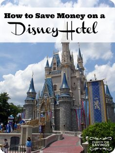 How to save money on a disney hotel