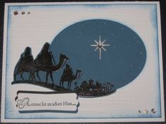 Come to Bethlehem by K9lover - Cards and Paper Crafts at Splitcoaststampers