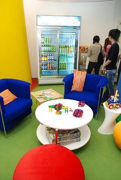 Google's Office - Taipei, Taiwan Chillarea?