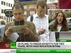 Wealthy Welfare: UK to freeze benefits as inflation bites