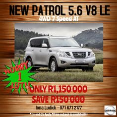 NEW PATROL 5.6 V8 LE 4WD 7 Speed AT