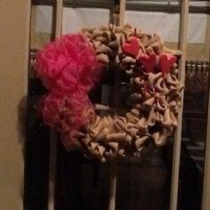 Same wreath, different dressing.