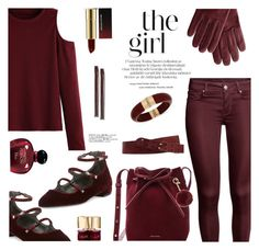 """""""The Girl..."""" by rasa-j ❤ liked on Polyvore featuring Linea Pelle, WithChic, Mark & Graham, Christian Dior, Kevyn Aucoin, INC International Concepts, Mansur Gavriel, Stuart Weitzman, Michael Kors and Smith & Cult"""