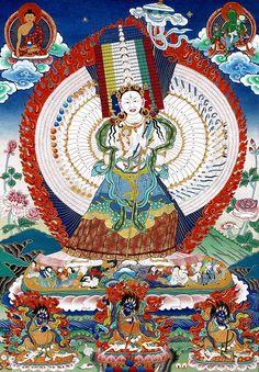 Dukar Tibetan Art, Tibetan Buddhism, Buddhist Art, Vajrayana Buddhism, Buddhist Traditions, Thangka Painting, Wheel Of Life, Gautama Buddha, Artwork
