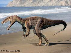 Eustreptospondylus by NTamura on DeviantArt