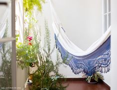 Outdoor Beds, Outdoor Furniture, Outdoor Decor, Pool Decks, Simple Living, Decoration, Hanging Chair, Boho Decor, Hammock