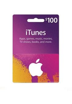 $100 Apple iTunesGift Card Apps Movies TV Shows Games Music  http://searchpromocodes.club/100-apple-itunes-gift-card-apps-movies-tv-shows-games-music-15/