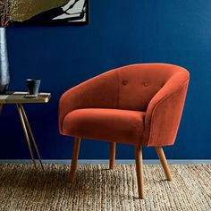 FYI: West Elm's Gorgeous Mid-Century Modern Chairs are 30% Off Right Now via @MyDomaine