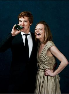 benedict cumberbatch, elisabeth moss  I was LOLing so hard at this guys name when I saw Tinker Tailor Soldier Spy