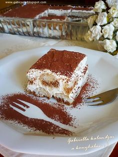 Gabriella kalandjai a konyhában :): mascarpone-s Hungarian Recipes, Hungarian Food, Tiramisu, Something Sweet, Cake Cookies, Cupcakes, Sweet Treats, Dessert Recipes, Food And Drink