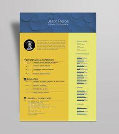free simple yet elegant resume template for graphic designer front end developer free premium resume design templates pinterest uxui designer - Cv Resume Template