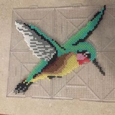 Hummingbird perler beads by  breez_beads_n_games