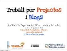 treball-per-projectes-i-blogs by mcarmendz via Slideshare