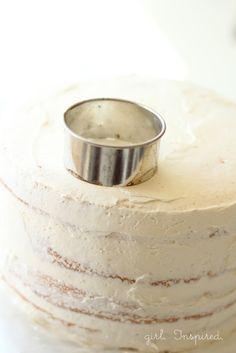 Tips for Making a Swirled Rose Cake - girl. Inspired.