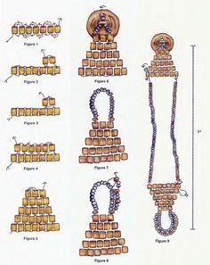 Браслет из бисерных нитей / Браслеты / Biserok.org