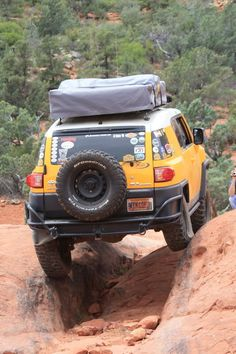 FJ Cruiser for the adventurer.