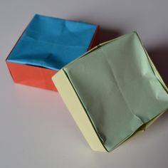 Make a Simple Origami Box