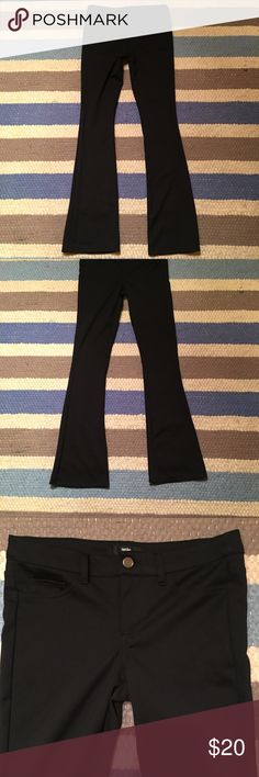 Black Sexy Dress pants, Stretch boot cut, 27 Stretch, new without tags.... Massimo Rebecchi Pants Boot Cut & Flare