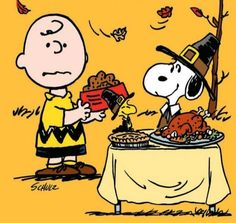 43 Days Until Thanksgiving - Charlie Brown Bringing Snoopy a Bowl of Dog Food With Snoopy and Woodstock Sitting at Table With Turkey Dinner and Dressed as Pilgrims Best Thanksgiving Movies, Peanuts Thanksgiving, Thanksgiving Cartoon, Charlie Brown Thanksgiving, Thanksgiving Pictures, Thanksgiving Prayer, Thanksgiving Preschool, Thanksgiving Parties, Thanksgiving Recipes