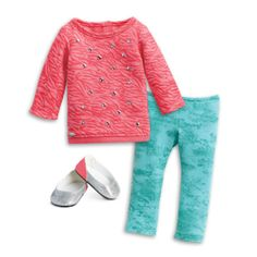 American Girl - Cool Coral Outfit for dolls - Truly Me 2015