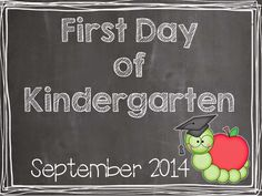 Mrs Jump's class: First Day of School Freebie- cute for first day photos.