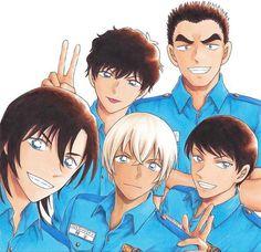 Magic Kaito, Happy Tree Friends, Anime Guys, Manga Anime, Vocaloid, Super Manga, Police Story, Dc Police, Bourbon