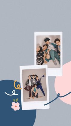 Iphone Wallpaper Vsco, Framed Wallpaper, Polaroid Picture Frame, Foto Frame, Polaroid Template, Picture Templates, Instagram Frame Template, Exo Lockscreen, Exo Luxion