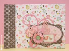 Elena Roche from Sizzix UK: How to decorate a mini album cover. Using the Big Shot Starter kit