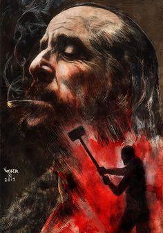 Czernobog - American Gods fan art by Ryan Vogler