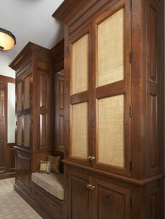 Custom closets and drawers eliminate the need for a separate dressing room Closet TraditionalNeoclassical by Sarah Blank Design Studio Pelham Manor, Dressing Room Closet, Interior Design Portfolios, Custom Closets, Luxury Kitchens, Kitchen And Bath, Portfolio Design, China Cabinet, Studio
