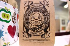 Johnny Cupcakes Johnny Cupcakes, Product Design, Starbucks, Cool Style, Label, Doodles, Notebook, Packaging, Graphic Design