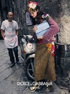 Dolce&Gabbana new campaign  Domenico Dolce and Stefano Gabbana launched another ad campaign on family values, love of life and, of course, Italy.