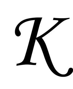 Image Result For Fancy Calligraphy Letter K Tattoos Tattoos
