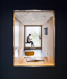 The Scape House by FORM - Kouichi Kimura Architects in Shiga, Japan is a contemporary home that respects privacy. Modern Interior Design, Interior Architecture, Interior And Exterior, Architecture Portfolio, Shiga, Contemporary Style Homes, Architect House, Modern House Plans, Living Spaces