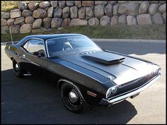 1970 Dodge Challenger T/A 340/290 HP, 4-Speed Ultra rare real deal Black on Black T/A - 1 of 4 known to exist
