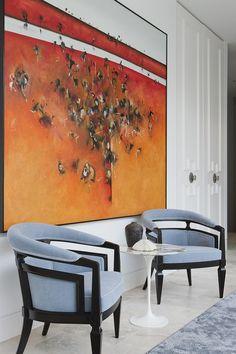 Australia Modern Living Room Design by David Hicks    elegant modern artsy slightly transitional Like the modern/eclectic/natural/elegant look