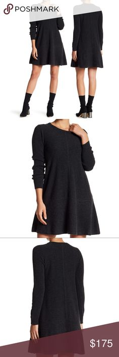 """NWT Super Luxurious Petite Pure Cashmere Dress Softest, most luxurious dress ever; subtle self-care. Not just any soft knit sweater dress - this is 100% cashmere, NWT. Photos w model are from Nordstrom site are shown as my dress is still new in bag with tags, photos soon.   Fit and flare shape creates feminine silhouette  Jewel neck 34"""" length (size PS) Dry clean   True to size. Petites best fit 5'4"""" & under For sizing model is 5'8"""" & 32""""-24""""-35"""" wearing PS. Unsure what size PP = as it…"""