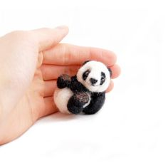 felt panda