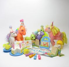 My Little Pony Party Gift Pack Vintage G1 by BrownEyedRose