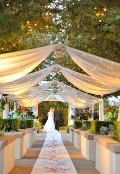 40 Yards Sheer Organza Fabric Swag Diy Wedding Anniversary Reception Party Event Banquet Decoration