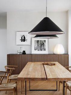 mesa de madeira rustica madeira bruta sala jantar buffet ripas