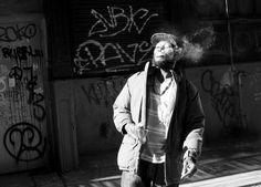 Smoke, Cortlandt Alley, New york Street Photography by James Maher