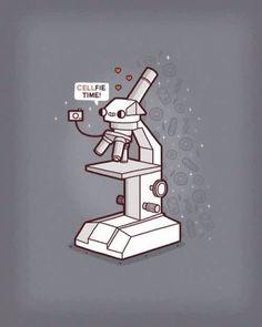 Cellfie ♥ - - Cellfie ♥ Medical Laboratory and Biomedical Science Cellfie ♥ Lab Tech, Laboratory Humor, Medical Laboratory Scientist, Lab Humor, Science Puns, Science Art, Medizinisches Labor, Chemistry Art, Illustration Inspiration