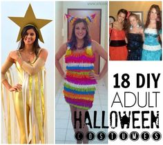 I like the owl, mermaid, and paper doll, they're cute. 18 easy DIY adult costumes - C.R.A.F.T.