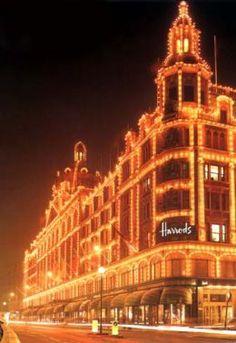 Harrods  Knightbridge  London